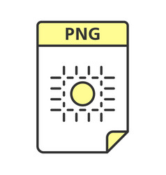 Png file color icon image file format raster vector