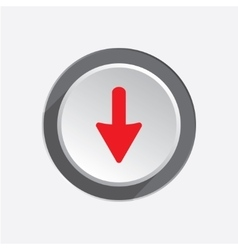 Pointer icon Move cursor sign guide symbol Red vector
