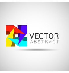 Abstract Logo template set Icons for any type of vector image