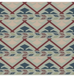 Tribal colored pattern 1 vector image vector image