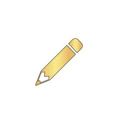 Pencil computer symbol vector