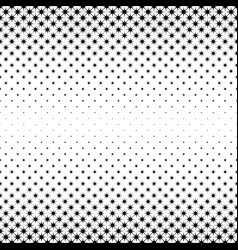 Black and white star pattern - background from vector