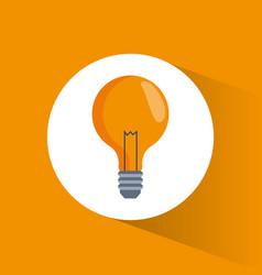 bulb idea creativity marketing vector image