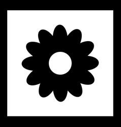 Daisy icon vector