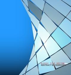 Glossy tile vector