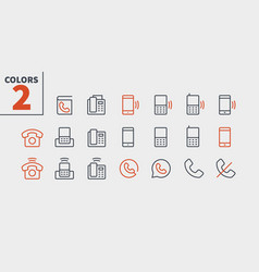 Phones ui pixel perfect well-crafted thin vector