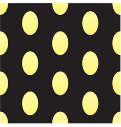 Seamless texturee with golden eggs on a vector