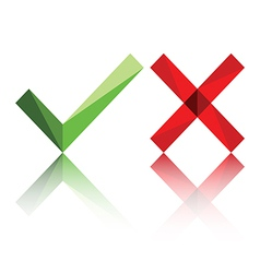 True False or Yes No icon vector