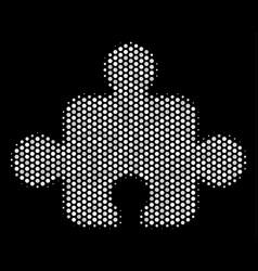 white pixel component icon vector image