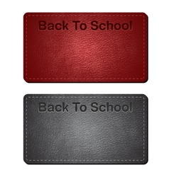 back to school cards vector image vector image