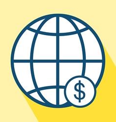 Financial Center Icon vector image
