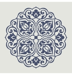 Persian round pattern vector image