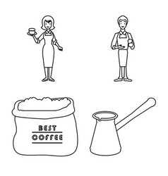 Cafe and house logo vector