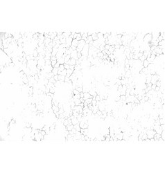 Cracked concrete wall texture vector