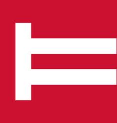 flag of eindhoven netherlands vector image vector image