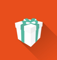 gift icon vector image