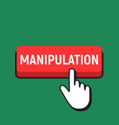 Hand mouse cursor clicks manipulation button vector
