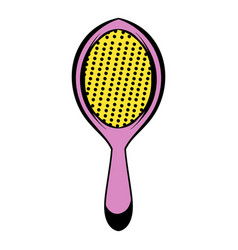massage comb icon icon cartoon vector image