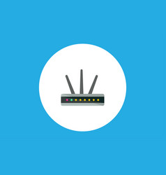 modem icon sign symbol vector image