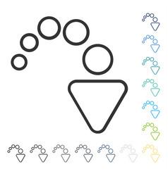 Redo icon vector