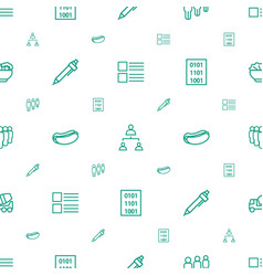 Site icons pattern seamless white background vector