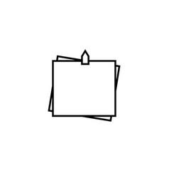 stickers icon vector image