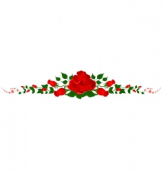 Wreathe of roses vector