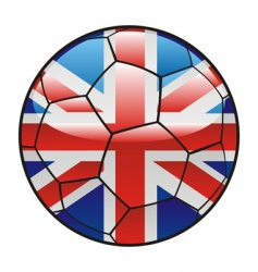 Great britain soccer vector image