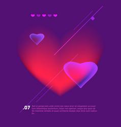 love poster vintage cinema promotional printing vector image