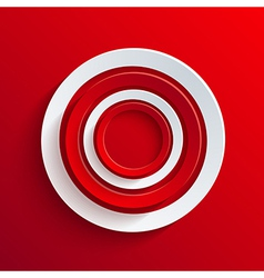 circle abstract background Eps10 vector image vector image