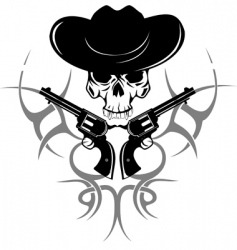 cowboy vector image vector image