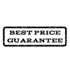 Best price guarantee watermark stamp vector