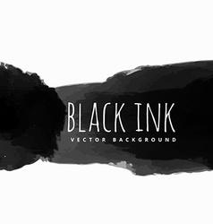 black ink background vector image