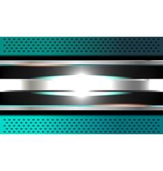 Blue background metal texture vector