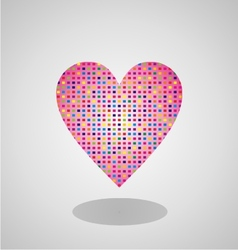 Colorfull Heart vector image