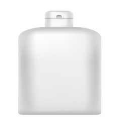 conditioner bottle icon realistic style vector image