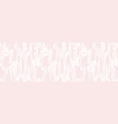 horizontal seamless pattern with nude pastel vector image