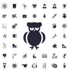 Owl icon vector