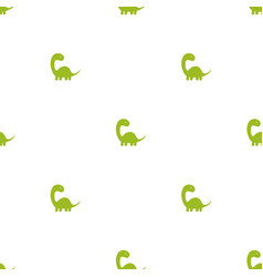 pattern with dinosaurs vector image