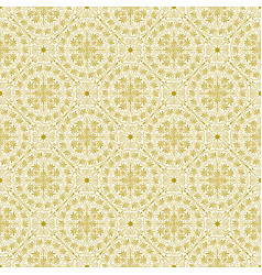 Seamless floral background in old greek style vector