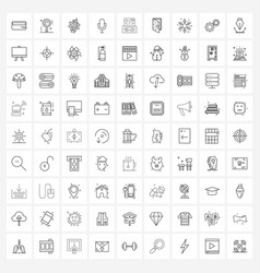 Set 81 ui icons and symbols for game app vector