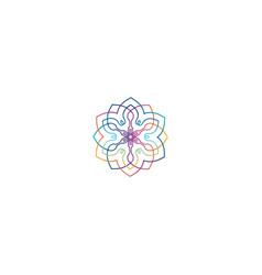 spons flowers vector image