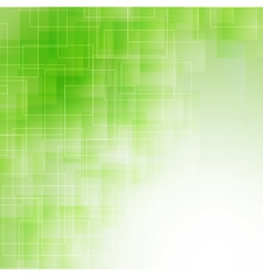 Abstract green icy background vector