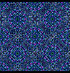 Geometrical bohemian abstract kaleidoscope vector
