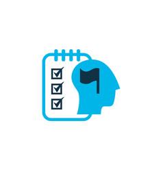 Self-organization icon colored symbol premium vector