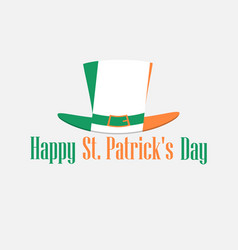 happy st patricks day festive background with vector image vector image