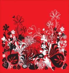 garden illustration vector image vector image