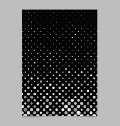 abstract dot pattern brochure design - document vector image