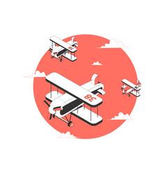 Air sport icon vector