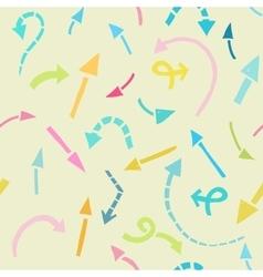 Arrows background vector